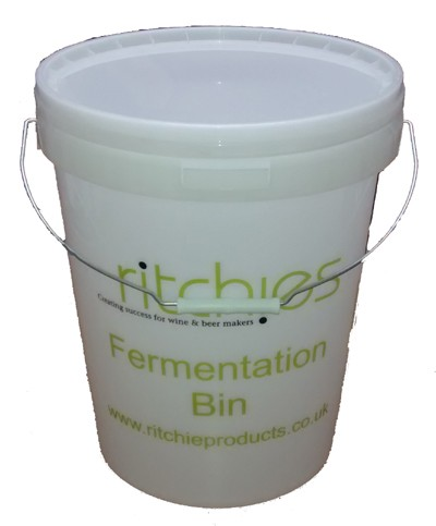 25 Litre Printed Fermenting Bin (bucket) with Tap