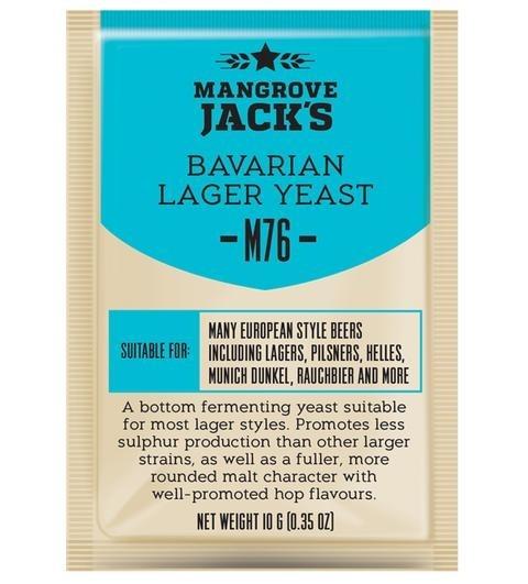 Mangrove Jack's Yeast - M76 Bavarian Lager