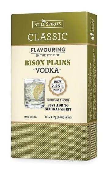 Classic Bison Plains Vodka Flavouring