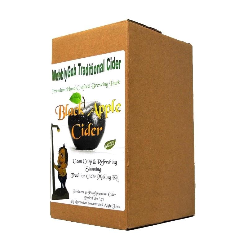 Wobblygob Black Apple Cider