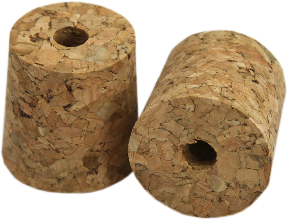 Cork Bung with Hole