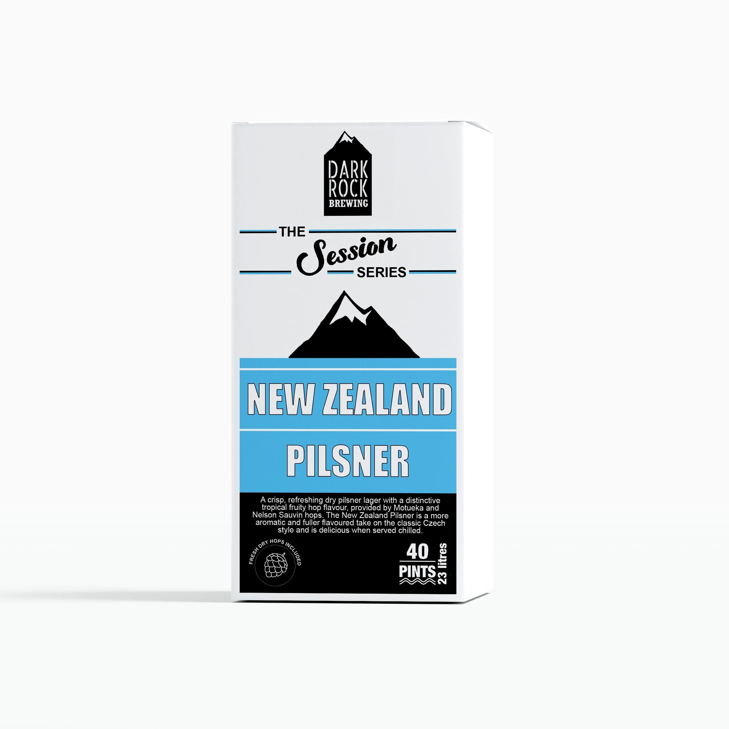 Dark Rock Session Series - New Zealand Pilsner