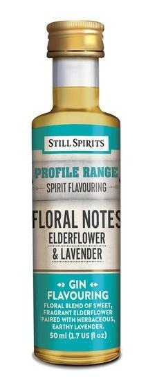 Profile Range Floral Notes - Elderflower & Lavender Flavouring
