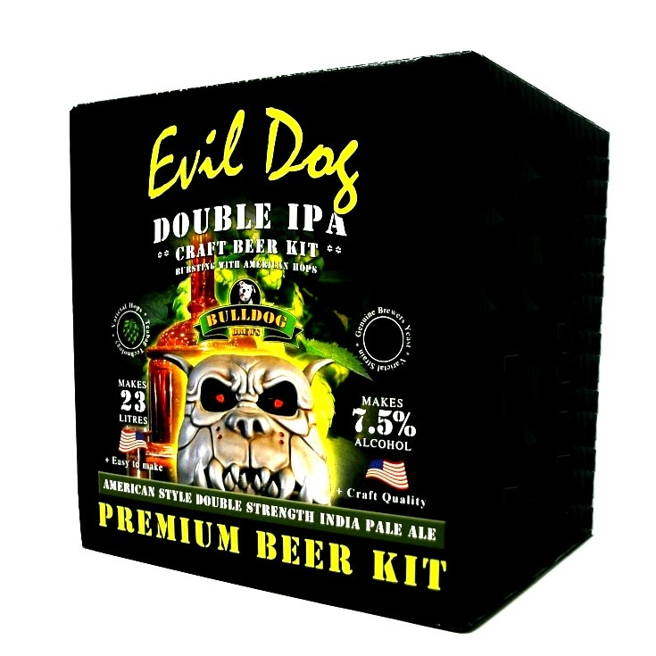 Bulldog Brews Evil Dog American Double IPA