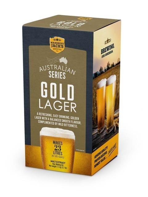 Mangrove Jack's Australian Brewer's Series - Gold Lager