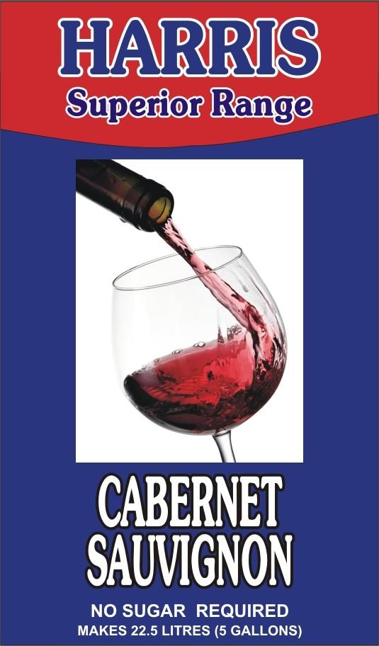 Harris Superior Range - Cabernet Sauvignon wine kit