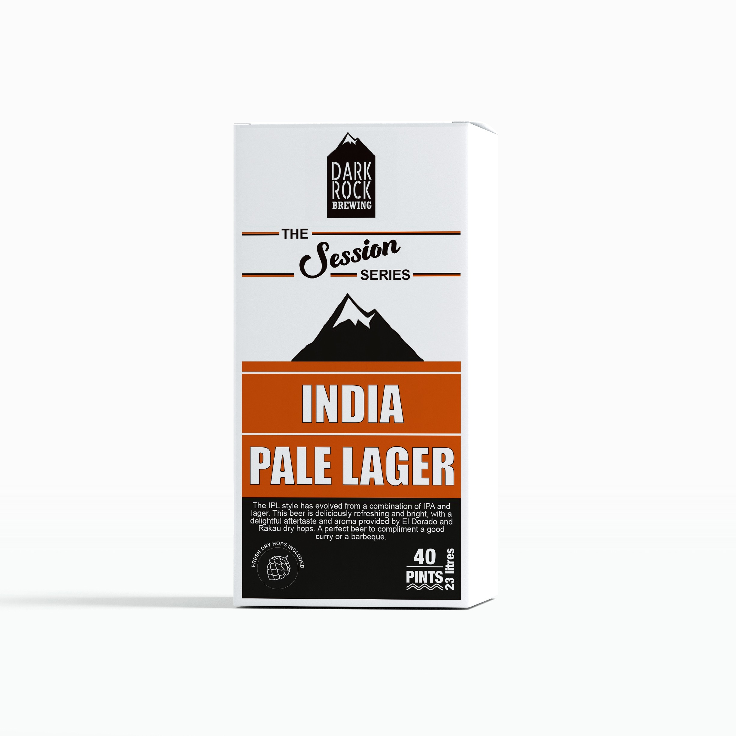 Dark Rock Session Series - India Pale Lager