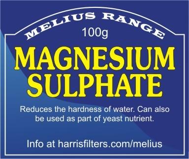 100g Magnesium Sulphate (Melius Range)