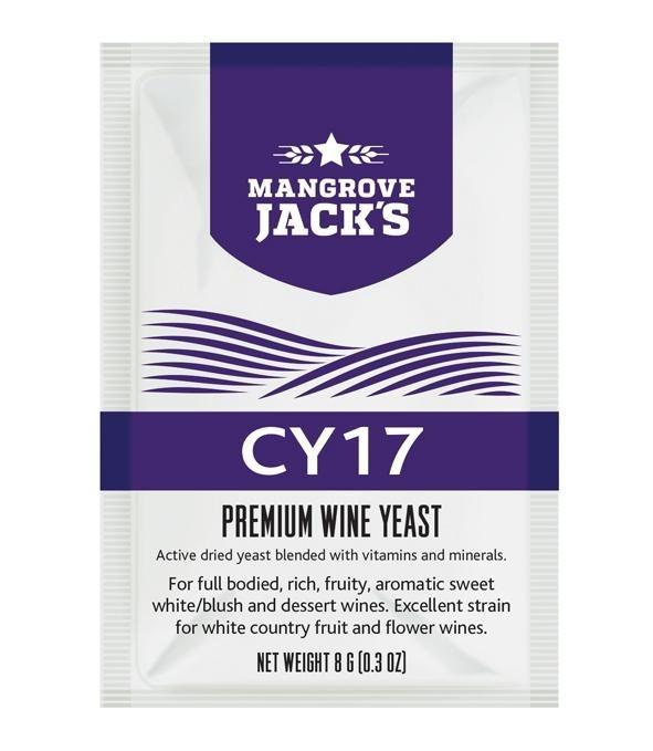 Mangrove Jack's CY17 Wine Yeast