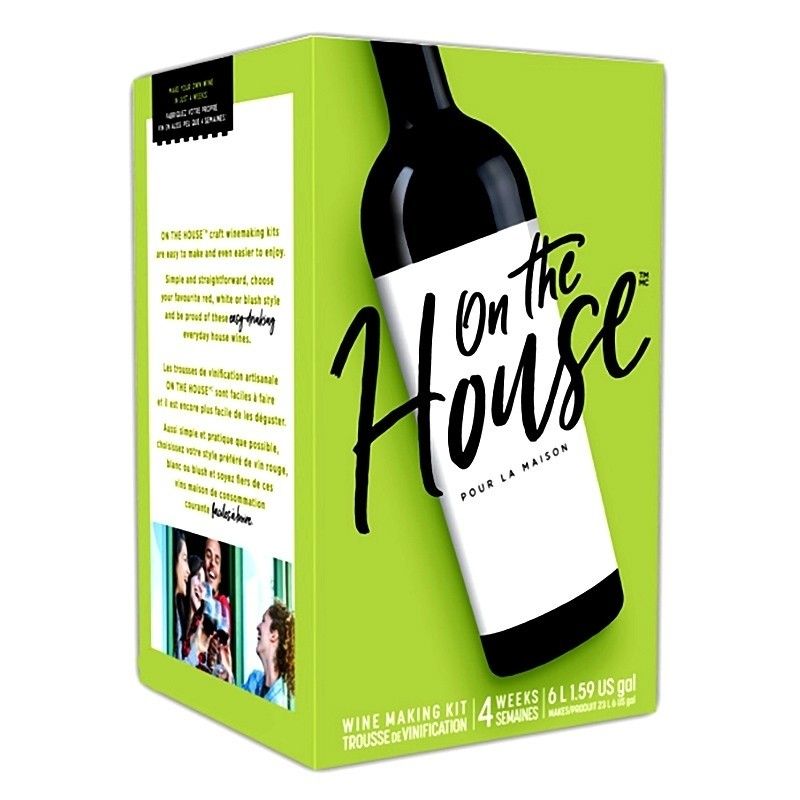 On The House California Red - 30 Bottle