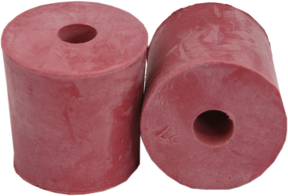 Rubber Bung with Hole