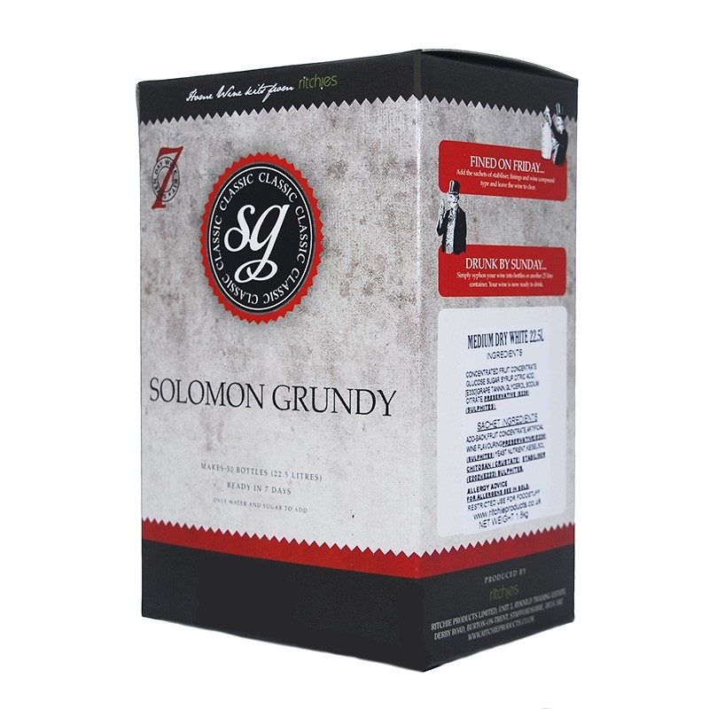 Solomon Grundy 5g Medium Dry Red