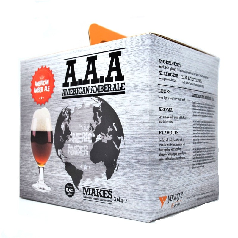 Youngs AAA (American Amber Ale)