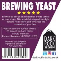 Dark Rock Brewing Yeast