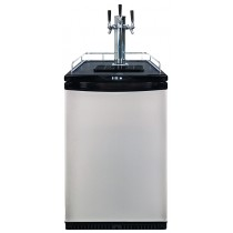 Kegerator with 3 taps