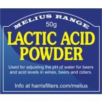 50g Lactic Acid Powder (Melius Range)