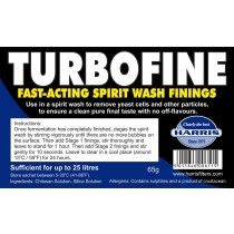 Turbofine - Fast-Acting Spirit Wash Finings