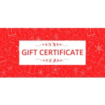 Gift Certificate - Christmas design