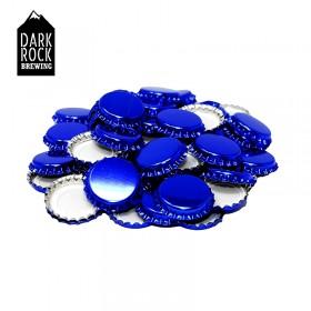 50 Crown Caps - Blue
