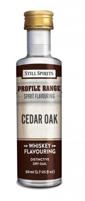 Whiskey Profile Range Cedar Oak Flavouring