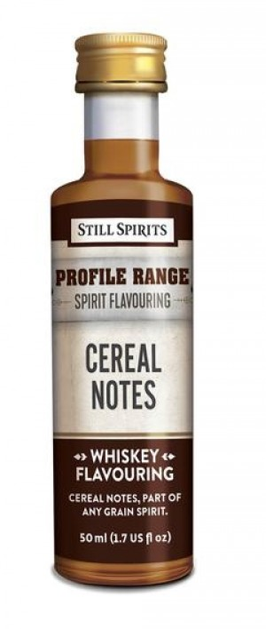 Whiskey Profile Range Cereal Notes Flavouring