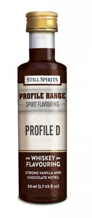 Whiskey Profile Range Profile D Flavouring