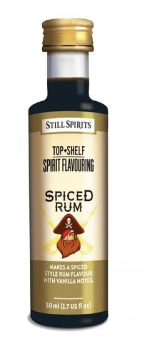 Top Shelf Spiced Rum Flavouring