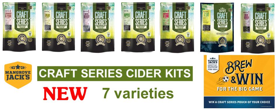 Mangrove Jack's Cider Kits