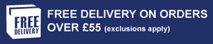 Free delivery on orders over £55