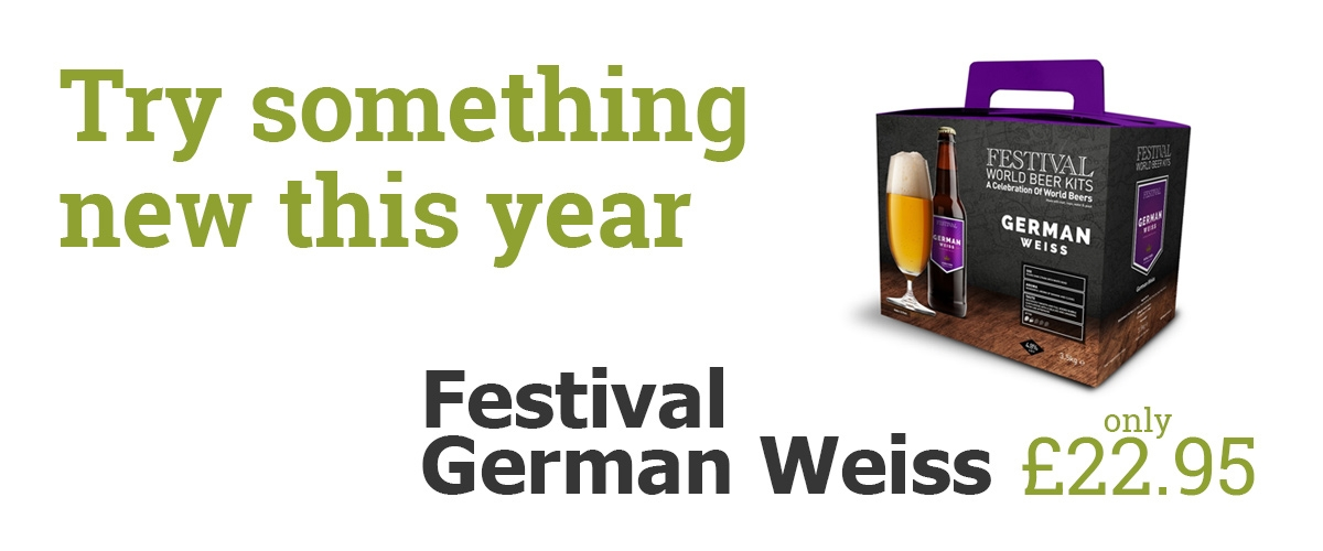 Try something new - German Weiss just £22.50