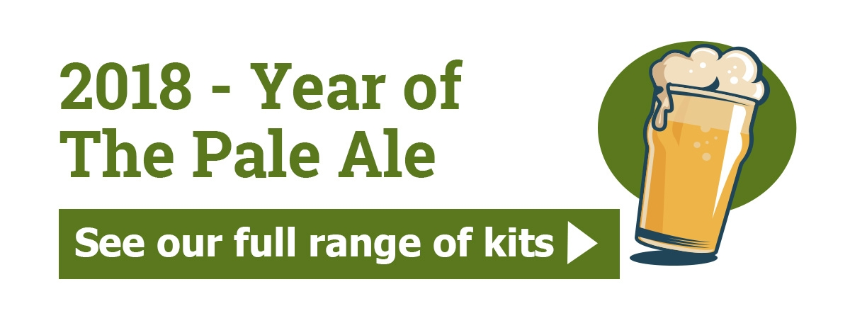 2018 - year of the Pale ale. See the full range.